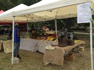 Farmer's Market West Side (La Follette Park)   Chicago, Aug. 8th 2012