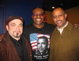 with Keith David & Ruben Santiago-Hudson