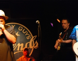 Hosting Buddy Guy's CD Release Party